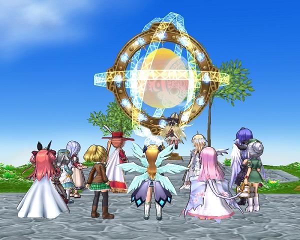 祭壇前に集合。