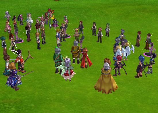 住民&騎士団員がモンスターに変化して、大パニック!