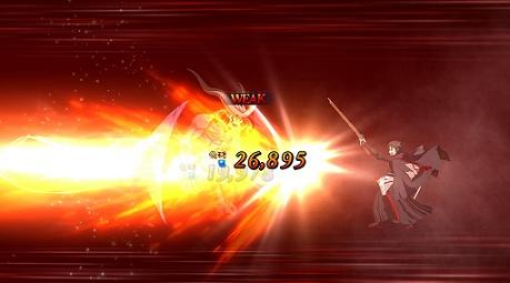 土方歳三の宝具攻撃を、グレーターデーモンに叩き込む!