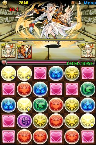 無課金ミルパで、女神降臨チャレンジを攻略。