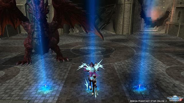 「壊城に舞う紅き邪竜」(エリュトロンドラゴン戦)に1キャラソロでチャレンジ。