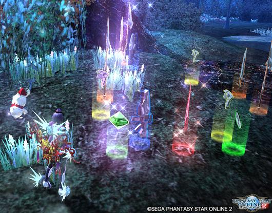 キャンペーンクエスト版「幻惑の森」で、☆13武器がドロップ!