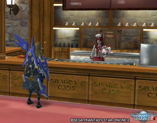 初詣が済んだら、フランカ'sカフェで油っぽい料理を注文して「初脂」。