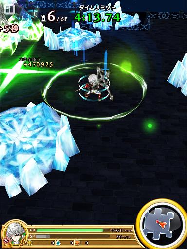 帝国ジュダで、凍結の塔(レギュラー)を攻略。